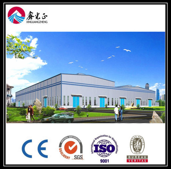 Light Prefabricated Fabrication Steel Structure for Workshop and Warehouse (ZY294) pictures & photos