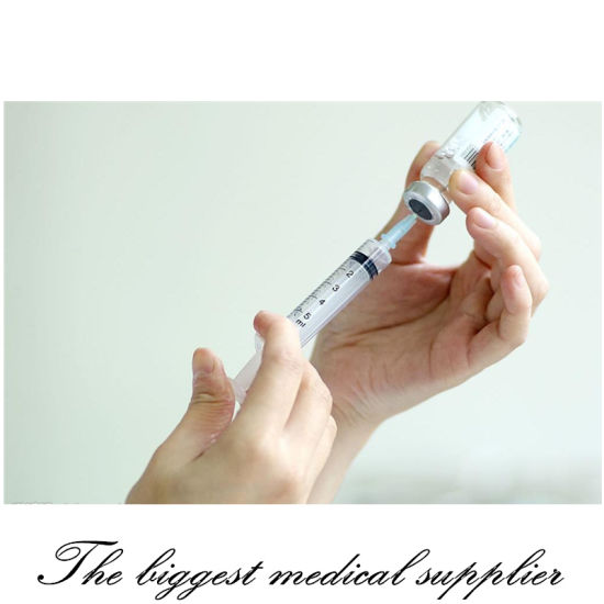 Disposable Medical Syringe with Needle pictures & photos