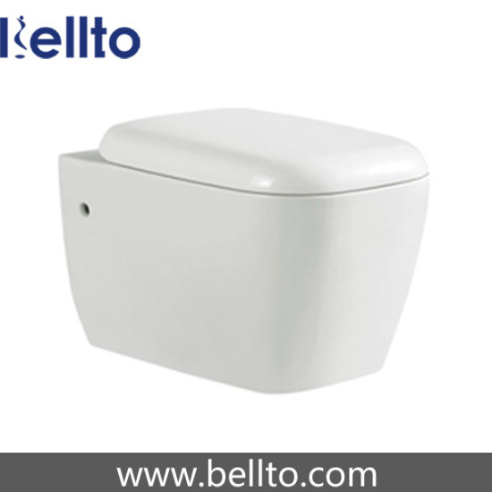 Concealed Cistern Wall Hung Toilet for Bathroom (319W)