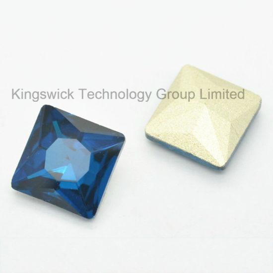 Fashion Square Glass Stone Rhinestone Mesh