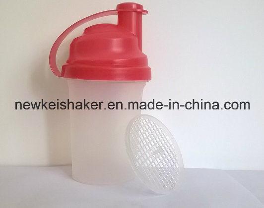 Cheaper 700ml Plastic Factory Custom Protein Shaker Bottle