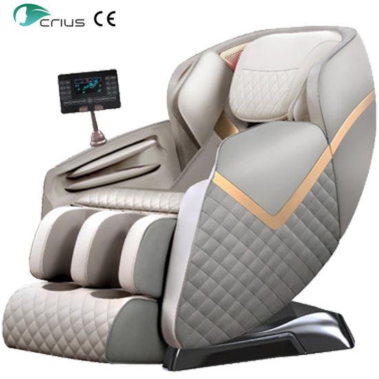 Ningde Crius C320L-Q11 Zero Gravity Recliner Electric Body Massage Machine Shiatsu 4D Full Body Foot Luxury Massage Chair