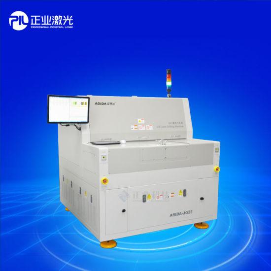 China Asida Brand High Accuracy UV Laser Drilling Machine (ASIDA-JG23)