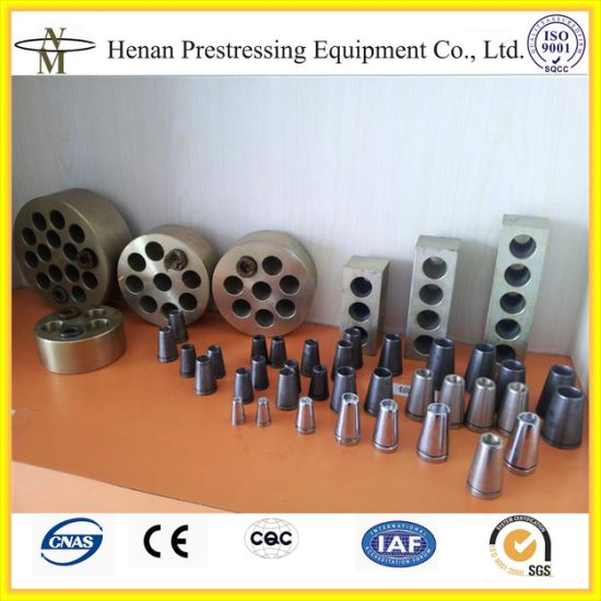 Cnm Prestressed Strand Anchor Grip and Wedges