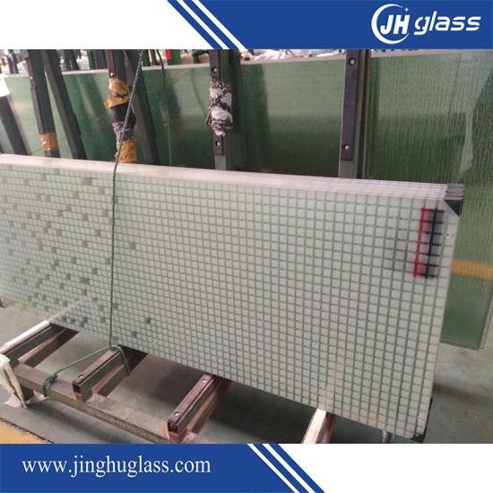 4mm 5mm Safety Silk Screen Printing Glass for Shower Door