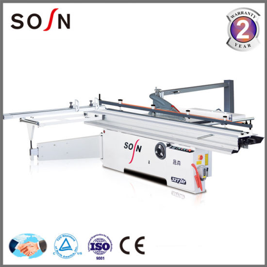 Sosn Heavy Duty Double Blade Precision Sliding Table Panel Saw pictures & photos