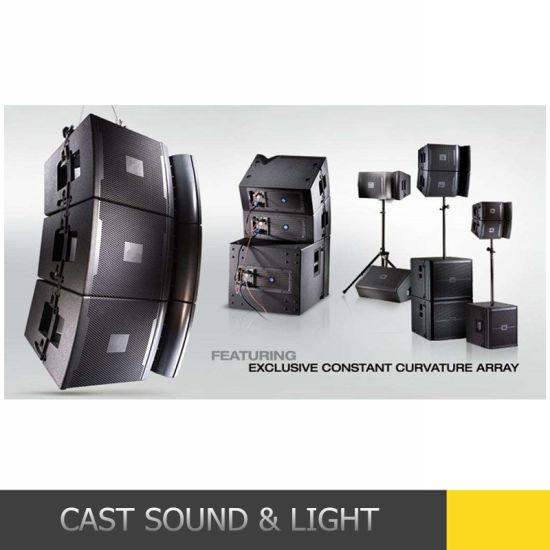 Professional Line Array Audio Active Speaker