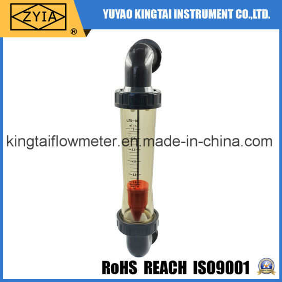 High Quality PVC Fiting Stainless Steel Float Water Rotameter
