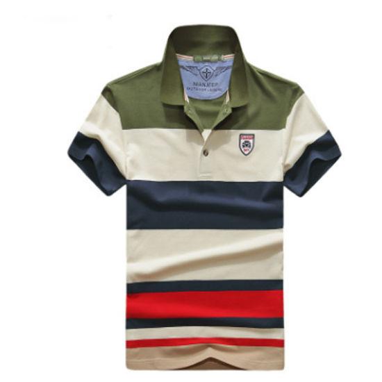 4966b63e3ef China Polo Knitting Cheap Wholesale 100% Cotton Men′s T-Shirt ...
