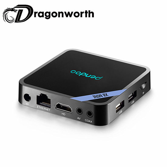 Android TV Box Pendoo X8 Mini S905W 1GB 8GB Set Top Box Amlogic Mini TV Box Media Player
