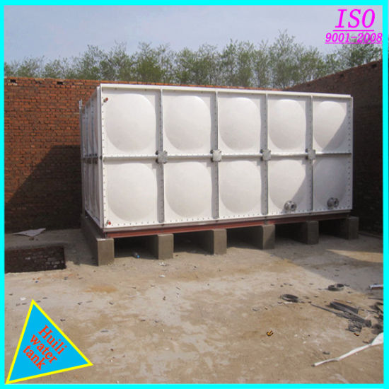 China 1000 Cubic Meter SMC FRP GRP Fiberglass Rectangular
