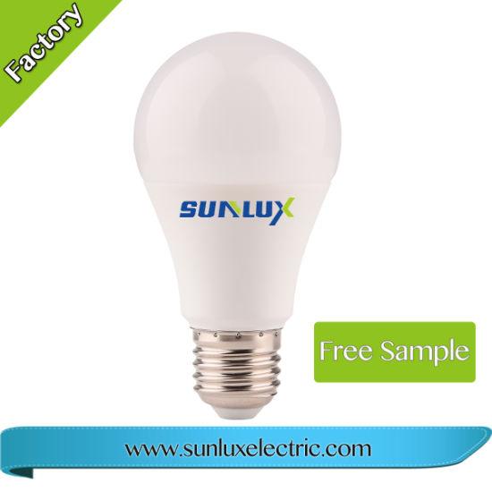 Economic Light Aluminium and Plastic 5W 220V 3000K LED Bulb Light