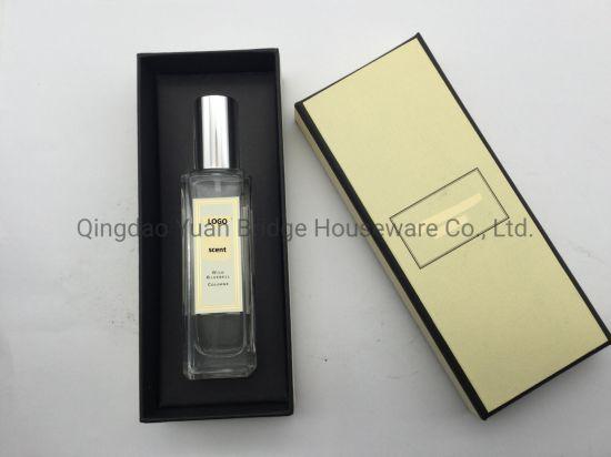 Custom-Made Wild Bluebell Cologne Spray Perfume in Crystal Glass Bottle 30ml for Body