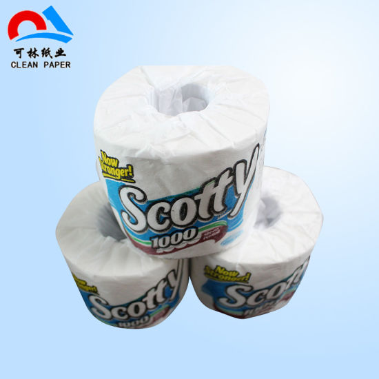 China Virgin Wood Pulp Customized Toilet Paper - China Toilet Tissue ...
