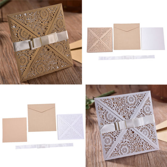 China hollow flowers laser cut wedding invitations engagement hollow flowers laser cut wedding invitations engagement wedding invitation card stopboris