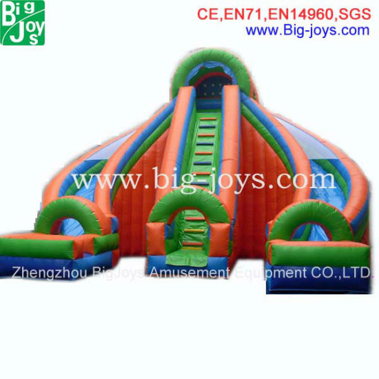 Inflatable Water Slide with Pool Inflatable Slide for Adult (DJWSMD800006) pictures & photos