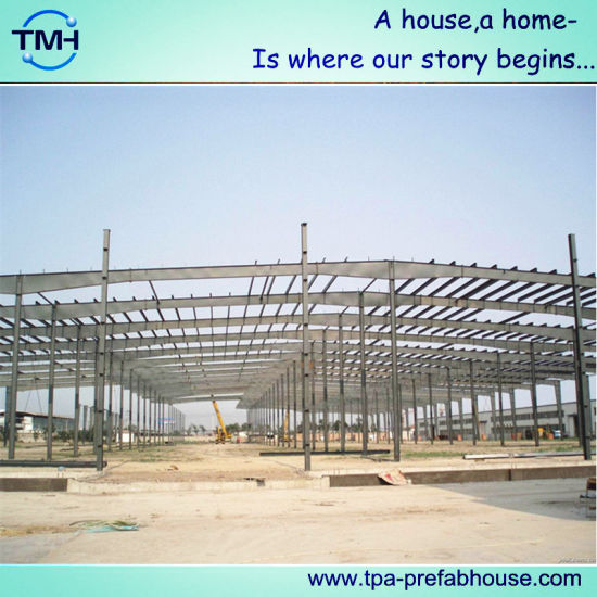 Prefabricated Steel Structure Warehouse for Construction Sites pictures & photos