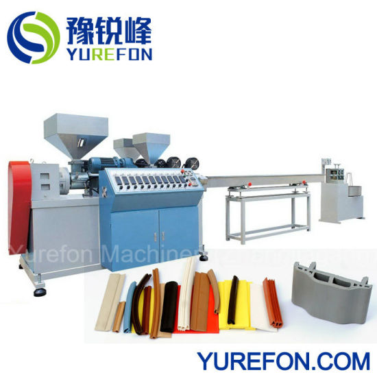 Rubber Window and Door Soft PVC Sealing Strip Extrusion Making Machine pictures & photos