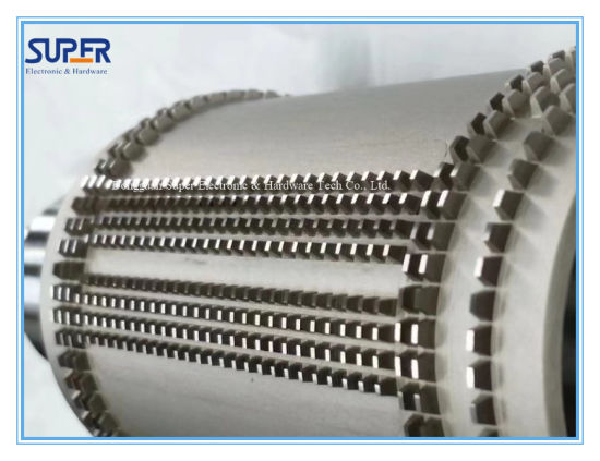 Knurling Shaft and Roller for N95 Kn95 Face Mask Machine Sp-102