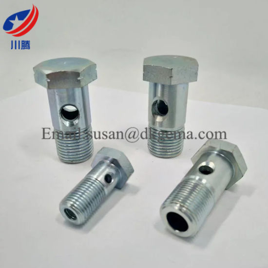 China metric bolt m hydraulic banjo