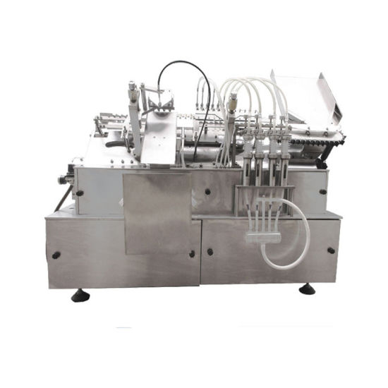 Four Heads Glass Ampoule Filling and Sealing Machine Production Line