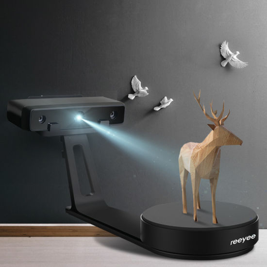 Wiiboox Reeyee High Precision Best Price White Light DIY Desktop 3D Scanner