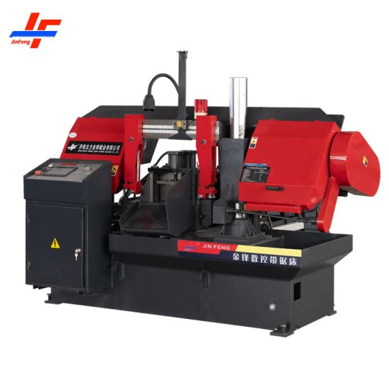Fully Semi Auto Ferrous Non-Ferrous Iron Carbon Steel Stainless Steel Alloy Aluminum Metal Cutting Horizontal Circular Band Saw Machine