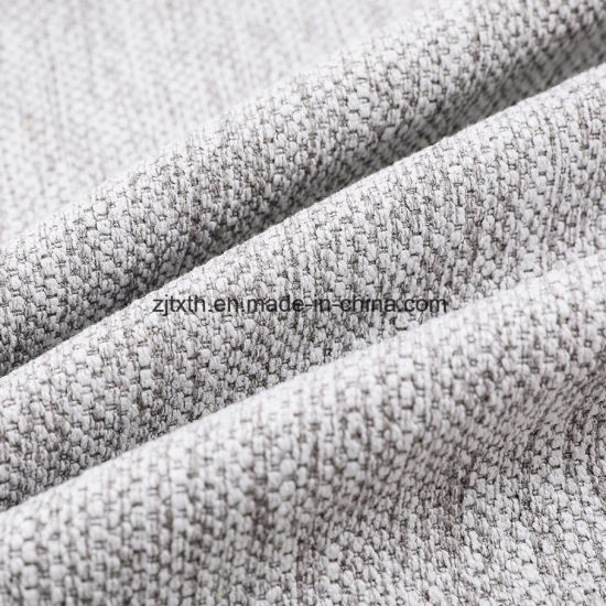 Home Textile Sofa Upholstery Use 100 Polyester Material Plain Dobby Fabric