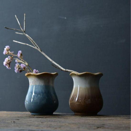 Wholesale Home Decoration Modern Simple Style Glazed Ceramic Flower Vase & China Wholesale Home Decoration Modern Simple Style Glazed Ceramic ...