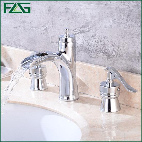 Hole Chrome Bathroom Faucet