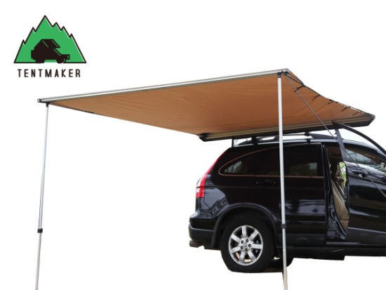 225m 33m Offroad Roof Top Tent Car Side Awning For Camping