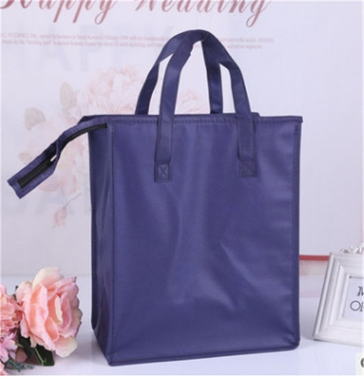 Non Woven Cooler Bag, Customized Wholesales Portable Eco Friendly Insulated Tote Thermal Wine Can Bottle Ice Food Lunch Picnic Shopping Gift Promotional Bag