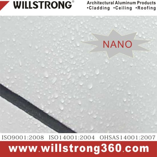 Nano Self-Cleaning Aluminum Composite Panel for Facade pictures & photos