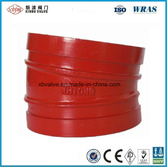 Grooved Pipe Fittings 11.25 Degree Elbow pictures & photos
