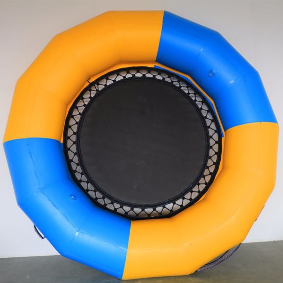 Exciting Inflatable Water Trampoline Float, Cheap Inflatable Trampoline for Adults pictures & photos