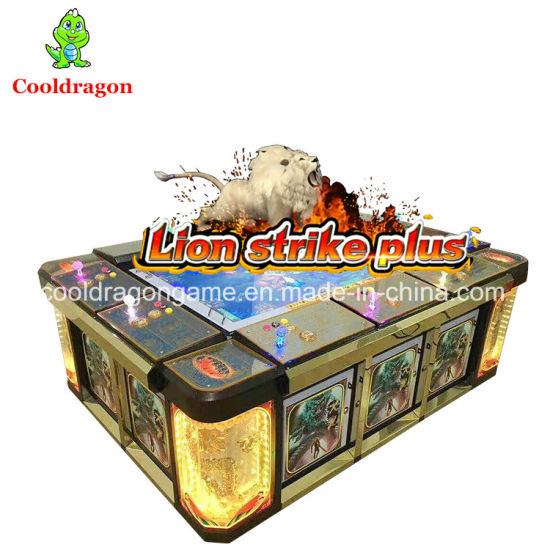 China 2017 New Fish Table Game Gambling Machine Lion Strike Plus