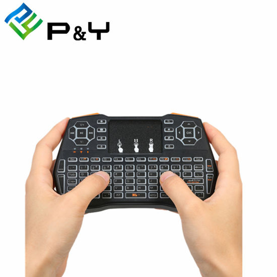 I8 Plus Wireless Keyboard Remote Control for Android TV Box Mini Air Mouse