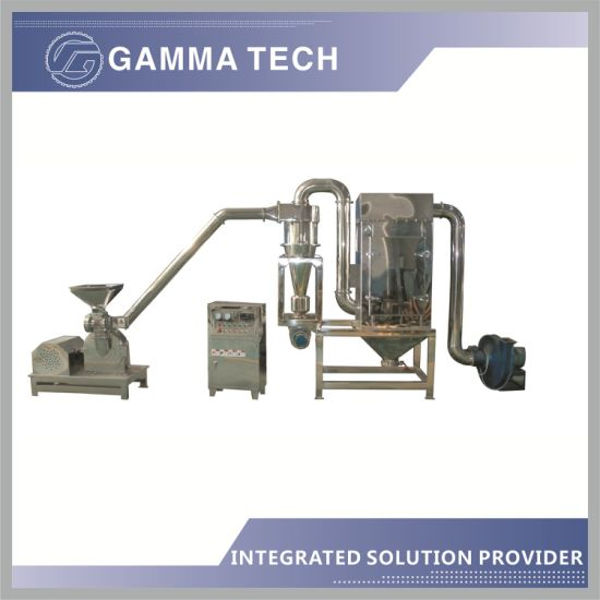 Super Fine Sugar Powder Grinding Machine with Cyclone and Dust Collector, Pulverizer for Sugar Plant Including Grinding Mill as Crushing Machine