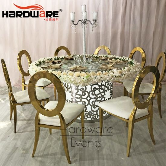 China Colour Chang Large 10 People Round Dining Table For Wedding China Led Dining Table Vintage Chairs For Wedding