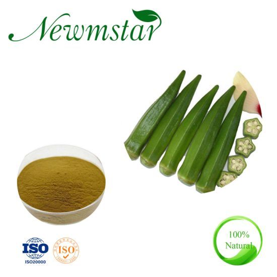 Professional Manufacturer Okra Extract of Ce Standard, Abelmoschus Esculentus Extract