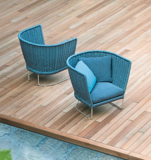 Hotel Half Outdoor Lounge Bar Lounge Chair