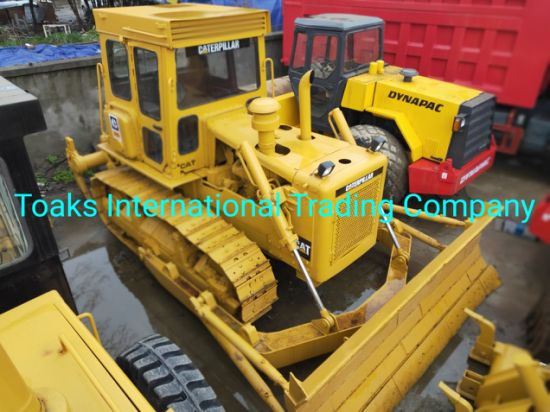 Used Caterpillar D6d Bulldozer in Perfect Working Condition with Reasonable Price. Secondhand Cat D3c, D3g, D4c, D5K Bulldozer on Sale Plus One Year Warranty.