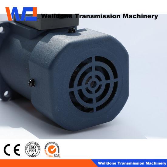 90mm 3-Phase 60W AC Street Sweeping Machine AC Brake Gear Motor Fan Motor for Transmission/ Brushless