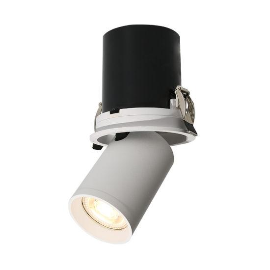 GU10 Modern Rotatable Energy Saving Track Lights Fixture for Supermarket Ceiling Lights