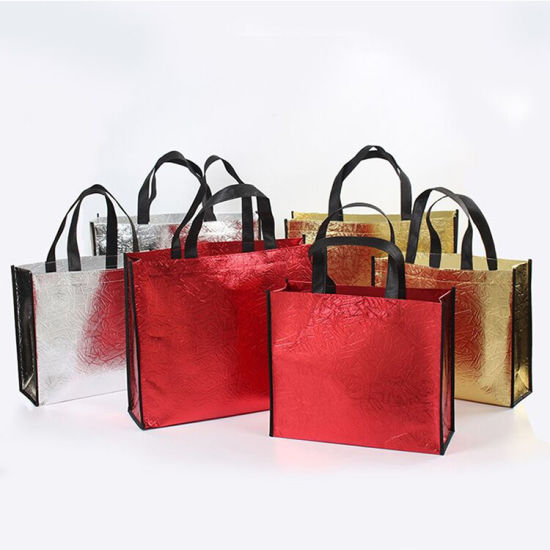 Wholesale Direct Factory Price 100% Biodegradable PP Laminated Custom Non Woven Handle Bag