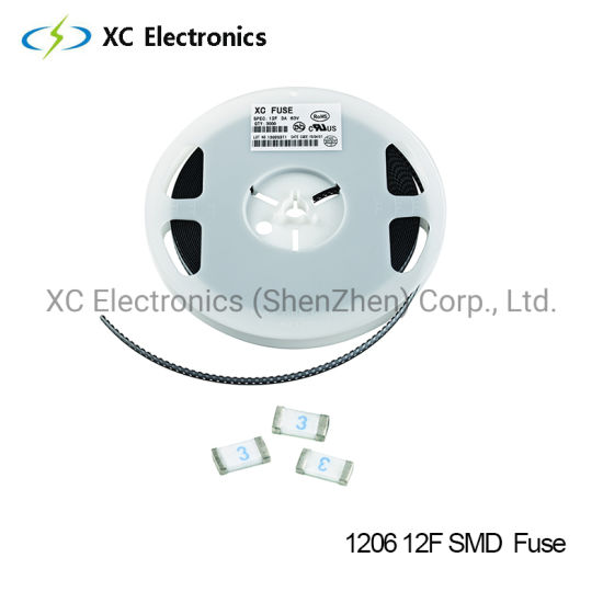 1206 SMD Fuse XC Fast Blow Fuse with UL Certification