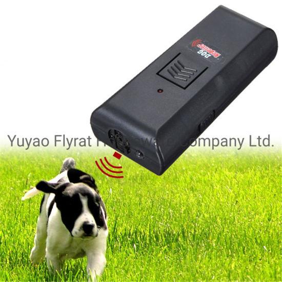 9V Battery Powered Dog Repeller with LED Light