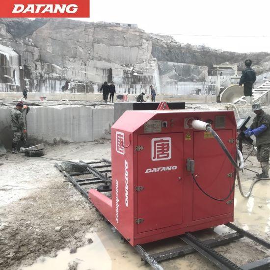 Quarry Granite Marble Stone Block Cutting Diamond Wire Saw Machine