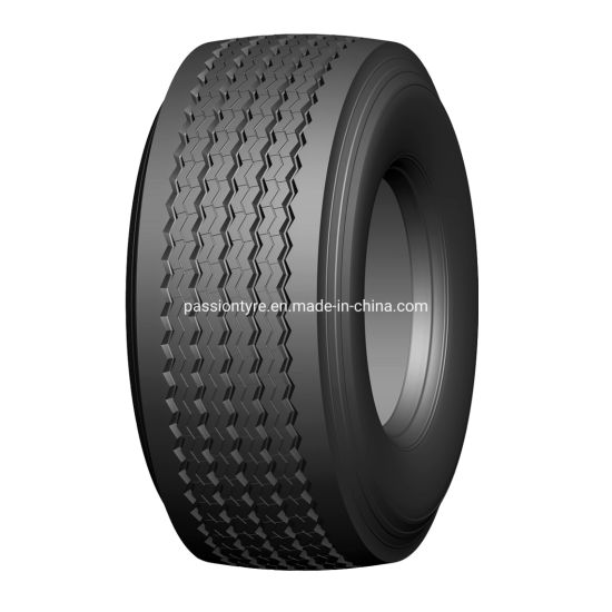 China Truck Tyre Factory Wholesale 385/55r22.5 385/65r22.5 445/65r22.5 Trailer Wheel