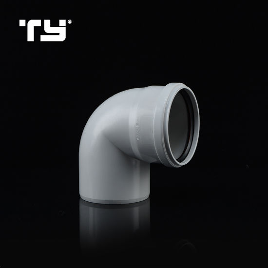 Best Quality PVC Plastic Pipe Gasketed Push Drainage System Joint Fitting